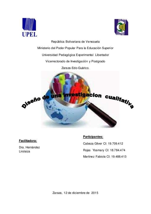 República Bolivariana de Venezuela Ministerio del Poder Popular Para la Educación Superior Universidad Pedagógica Experime...
