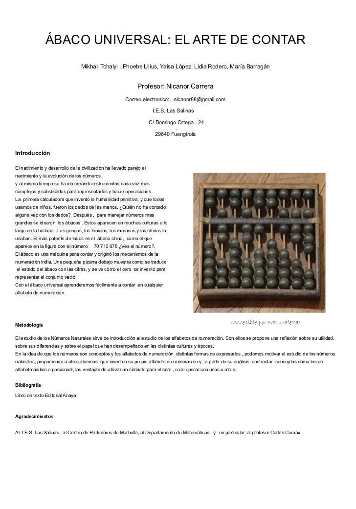 IV Encuentro de Experiencias de investigación del alumnado en e aula: Comunicaciones orales