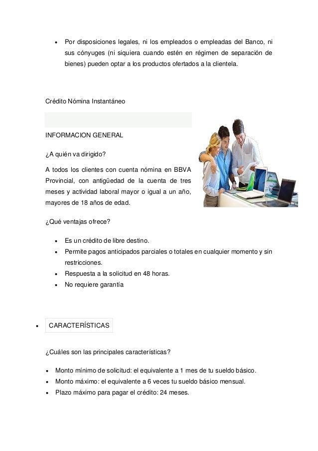 Credito nomina provincial planilla prestamos master for Financiar muebles sin nomina