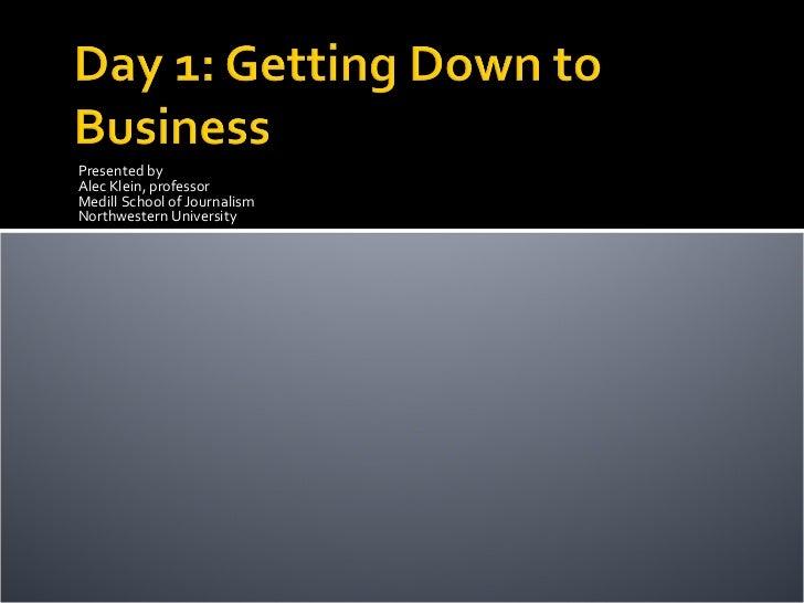 Investigative Business Journalism Webinar