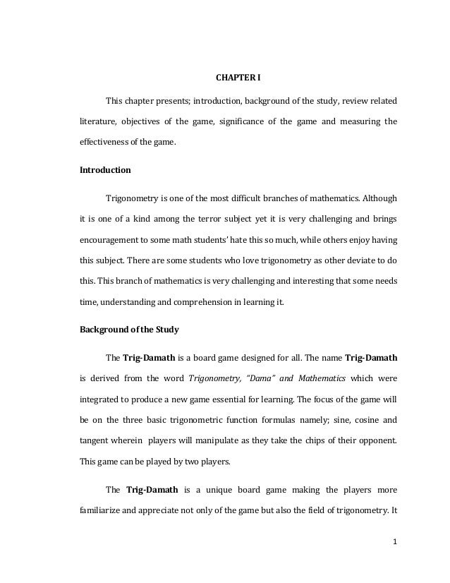 Science Investigatory Project Sample Research Paper