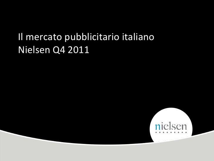 Investimento El Mercatopubblicitario Q42011