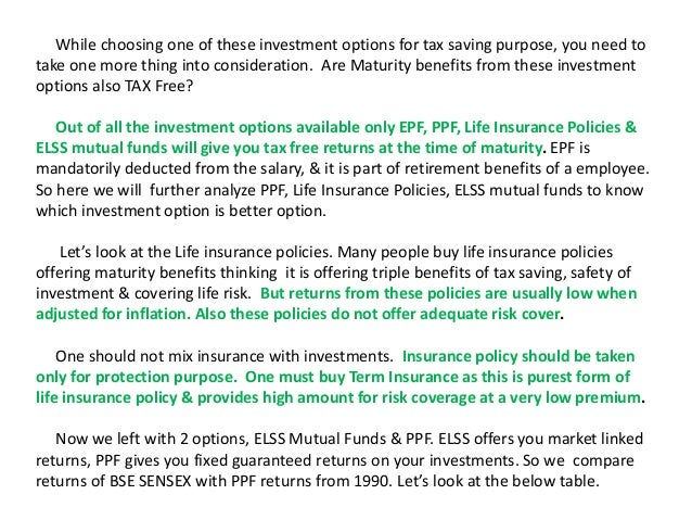analysis of life insurance