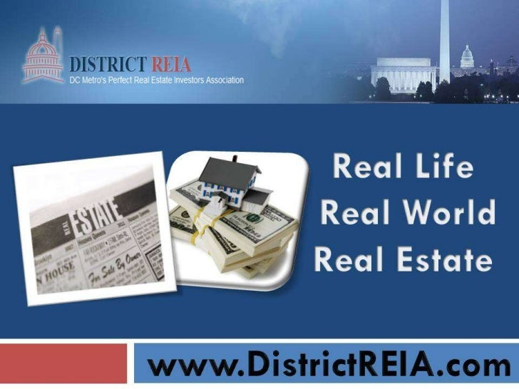 Investing In Real Estate Washington Dc I