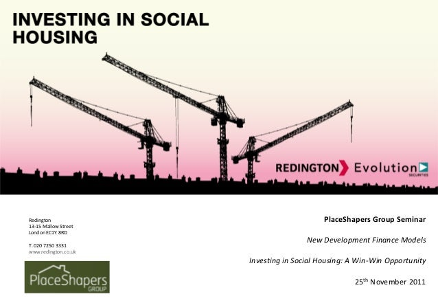 Investing in Social Housing: A Win-Win Opportunity
