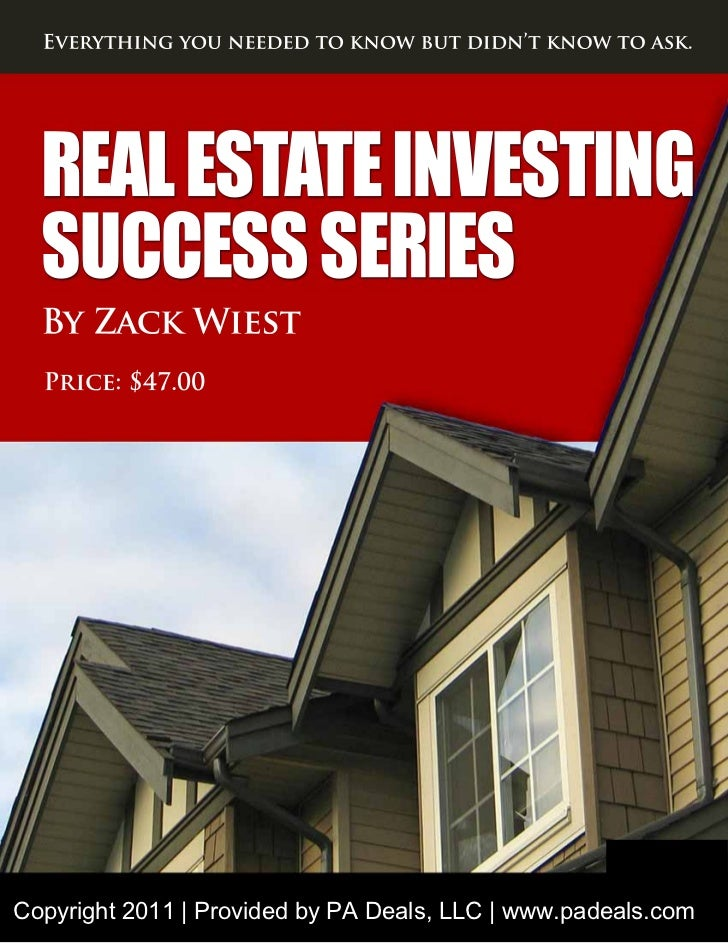 Investing Success by Zack Wiest
