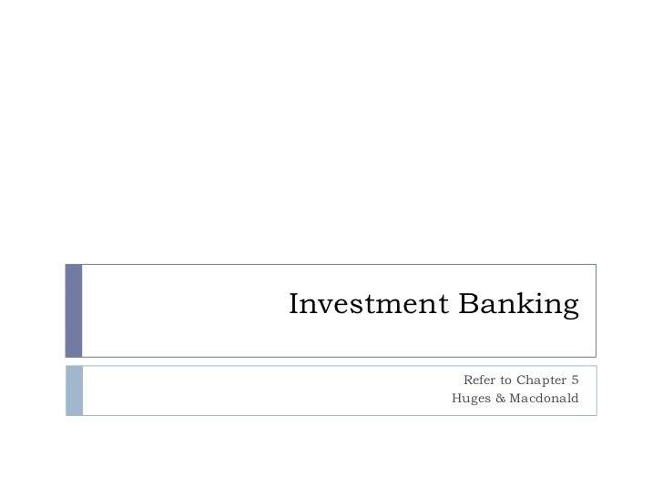 Investment banking uae