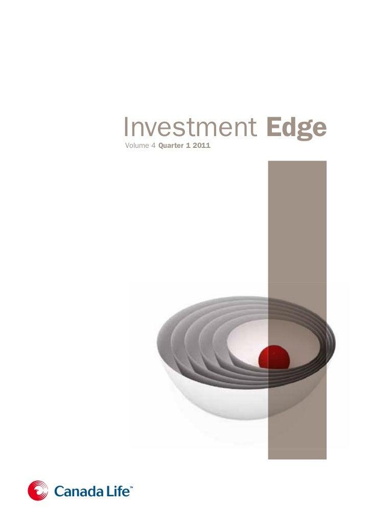 Investment Edge Quarter 1 2011