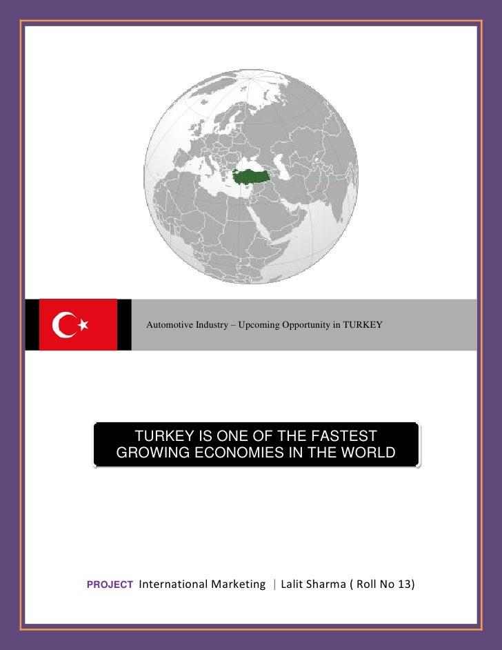 pest analysis for turkey Country analysis of turkey - hakki türeyen - term paper - business economics - miscellaneous - publish your bachelor's or master's thesis, dissertation, term paper.