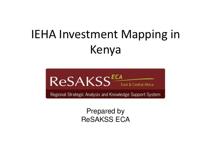 Investment mapping in kenya