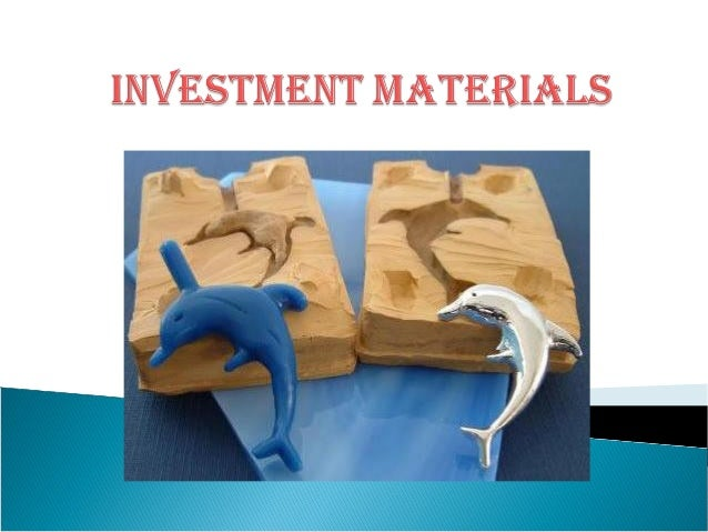 Investment materials and investing techniques