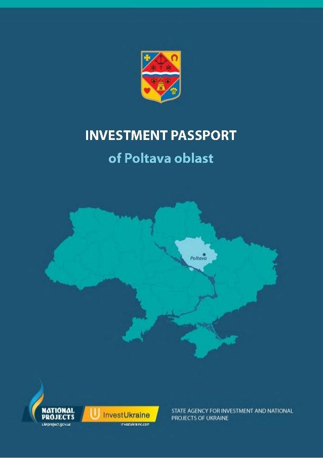 INVESTMENT PASSPORT of Poltava oblast  ukrproject.gov.ua  investukraine.com