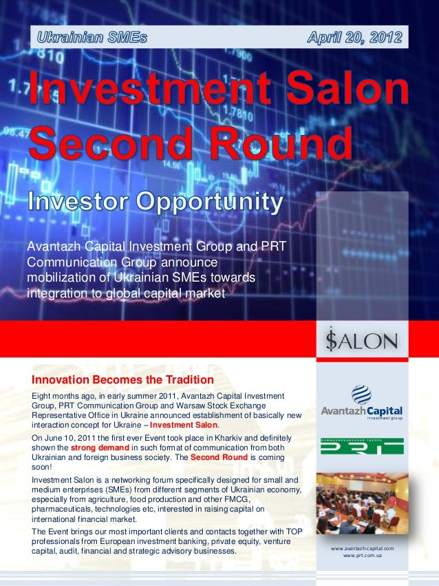Investment salon second round