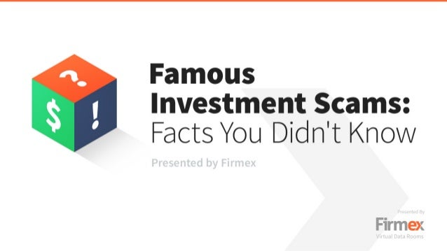 Famous Investment Scams: Facts You Didn't Know