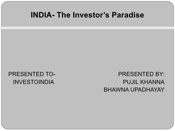 Investo India Fostiima Zeal 2010