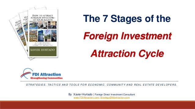 The 7 Stages of the Foreign Investment Attraction Cycle S T R AT E G I E S , TA C T I C S A N D TO O L S F O R E C O N O M...