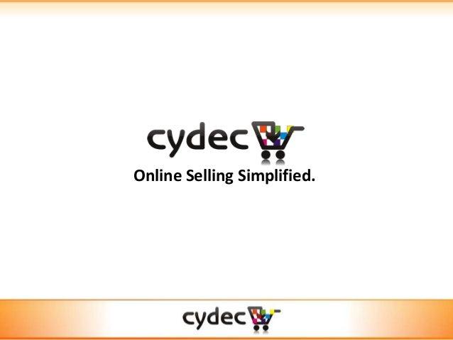 Online Selling Simplified.