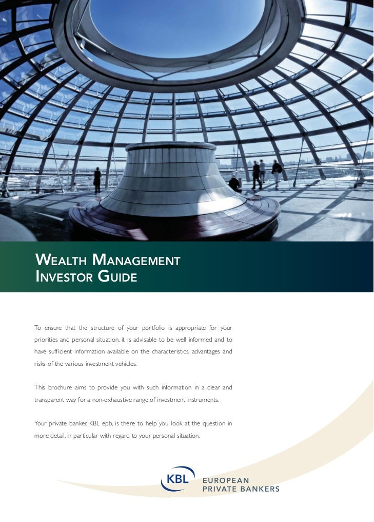 Wealth Management Investor guide