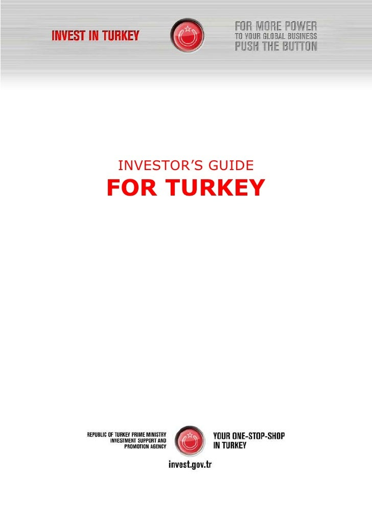 Investoer Guide FOR TURKEY