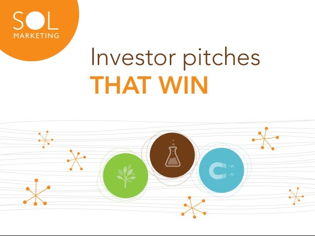 Investor pitches THAT WIN