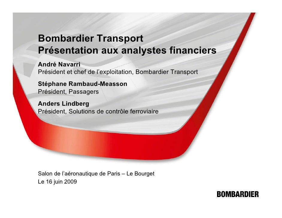Investor Presentation 20090616