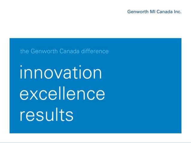 June, 2013Genworth MI Canada Inc. 1