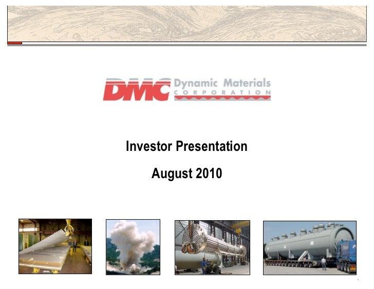 Investorpresentation2010