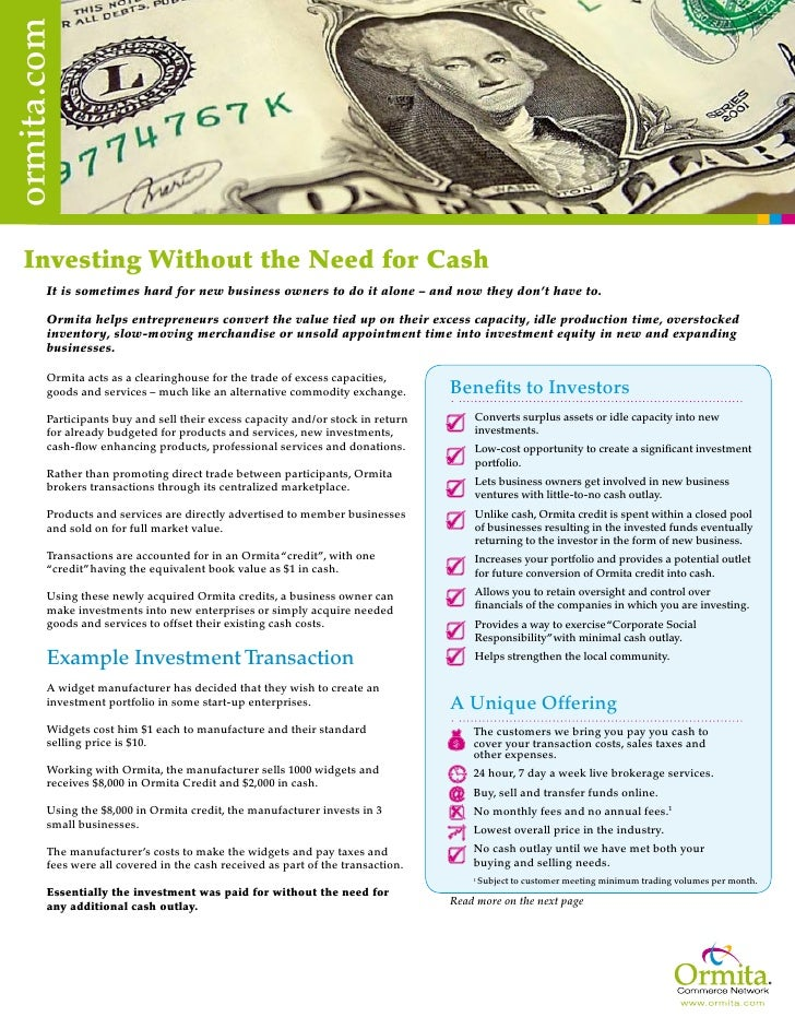Invest Without Cash