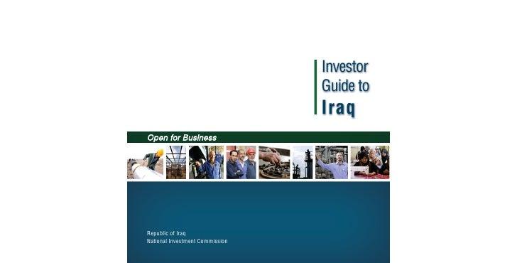 Iraq Investor Guide 2009