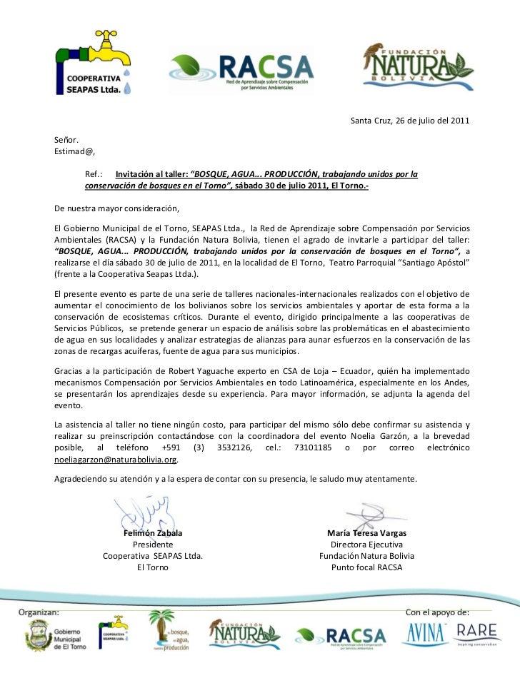 Bosque, Agua .. producción unidos por la conservación de bosques en El Torno
