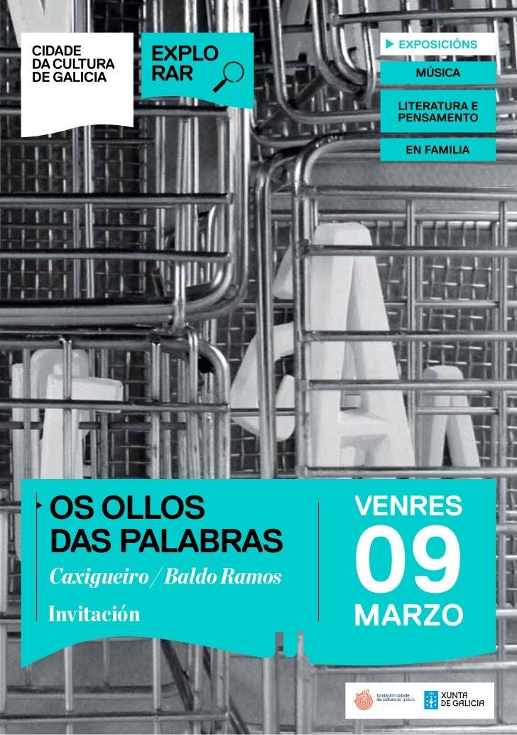 Invitación exposición Rede Museística Lugo