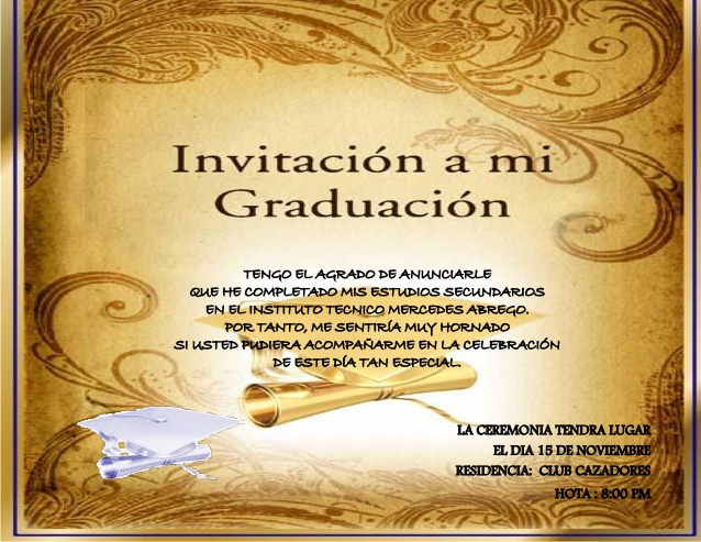 Invitacion De Thanksgiving