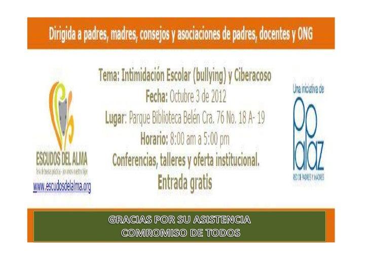 Programa Académico Antioquia - 3 de octubre de 2012 Parque Biblioteca de Belén                             Cra. 76 No. 18A...