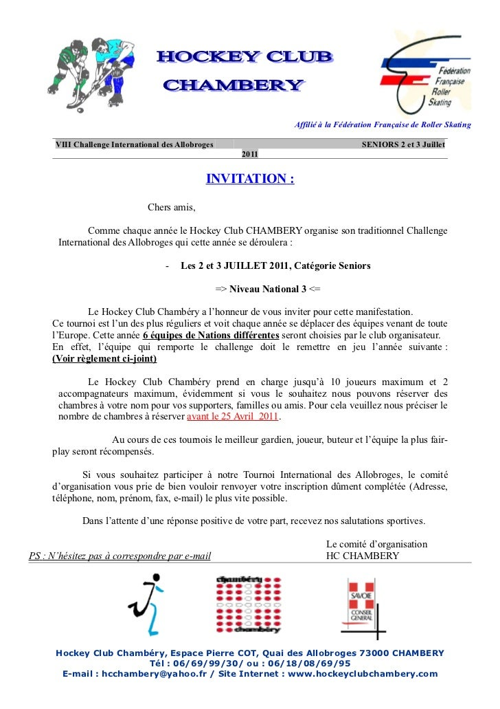 Invitation challenge-international-seniors-chambery-france
