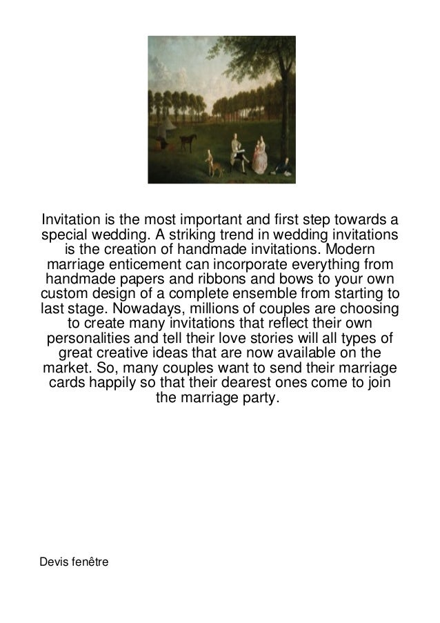 Invitation is the most important and first step towards aspecial wedding. A striking trend in wedding invitations    is th...