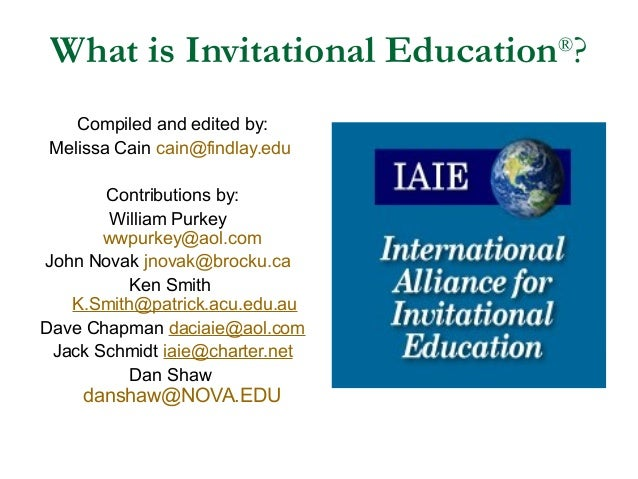 What is Invitational Education?
