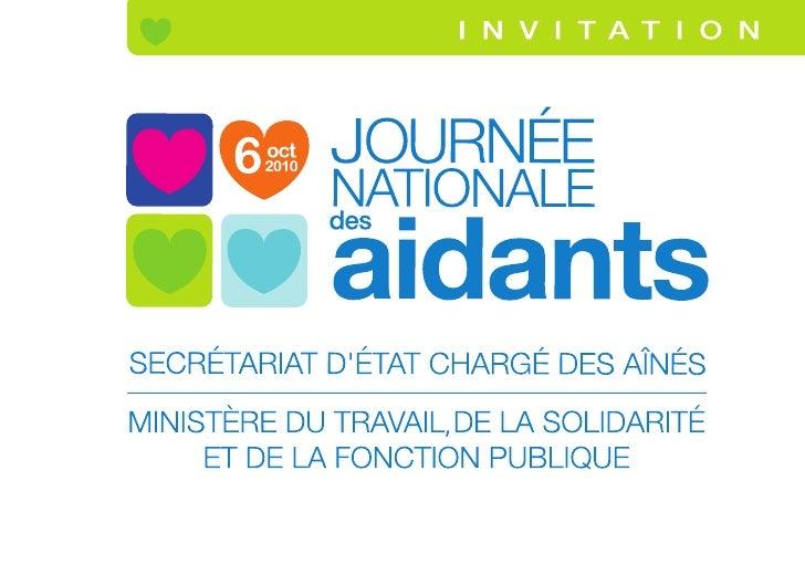 Programme de la Journée Nationale des Aidants