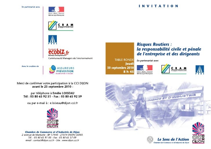Table ronde risques routiers 30 septembre
