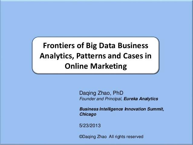 Big Data Analysis and Business Intelligence