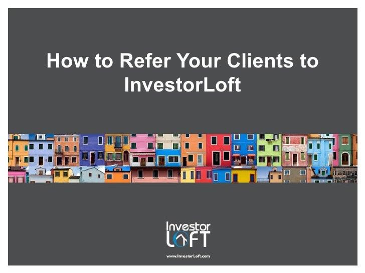 InvestorLoft.com: How to Invite Your Clients to Join InvestorLoft