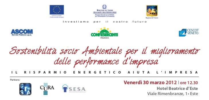 Invito Cescot - CISA