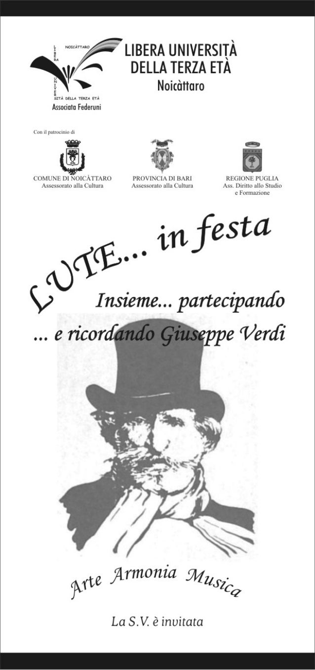 Invito lute in festa 2013