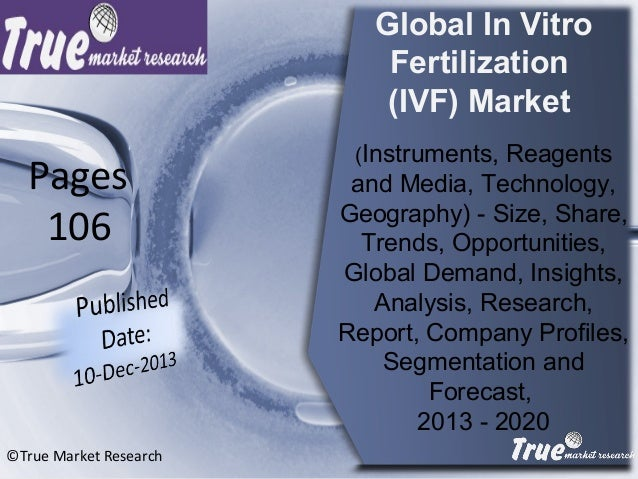 Global In Vitro Fertilization (IVF) Market (Instruments, Reagents and Media, Technology, Geography) - Size, Share, Trends,...