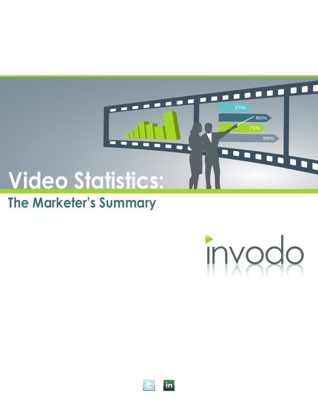 Video Statistics:The Marketer's Summary