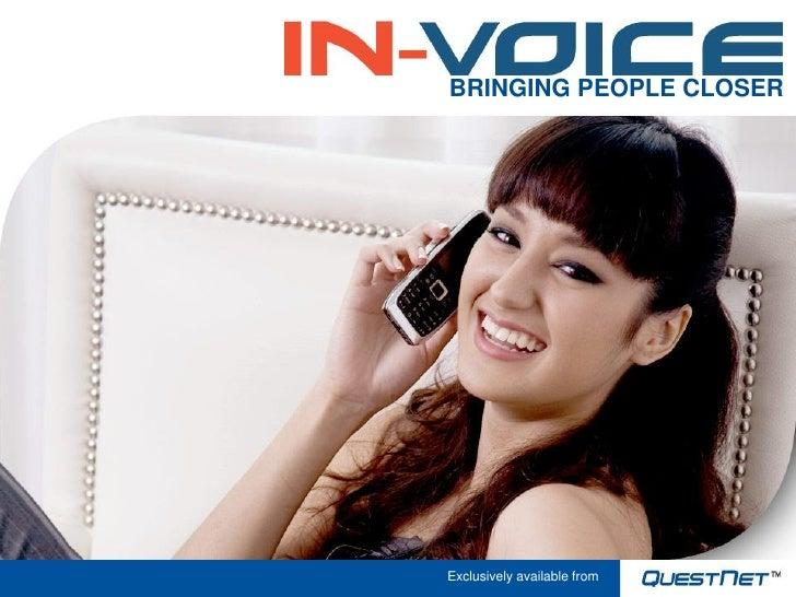 In Voice Presentation Jan10