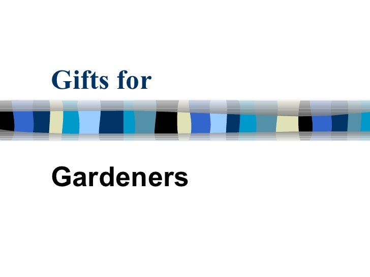 Involve Dec - Gifts for Gardeners