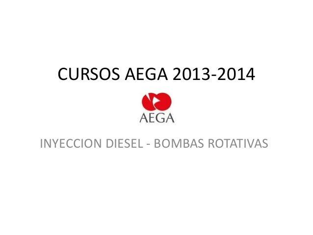Curso - Inyeccion diesel. Bombas rotativas