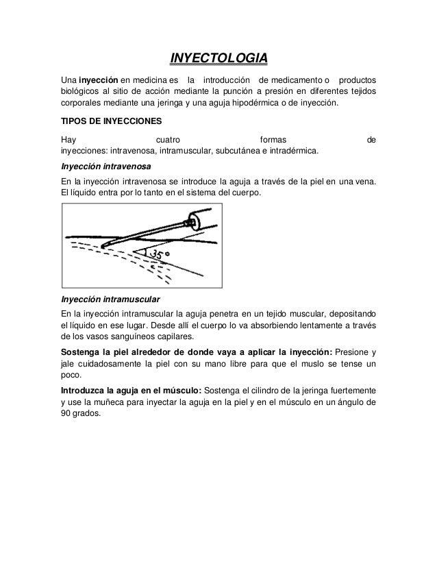 Inyectologia
