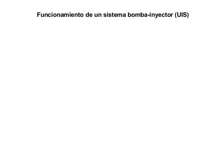 Funcionamiento de un sistema bomba-inyector (UIS)
