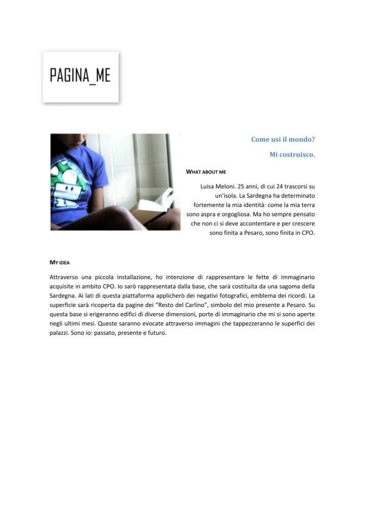 Io3 pages - Progetto
